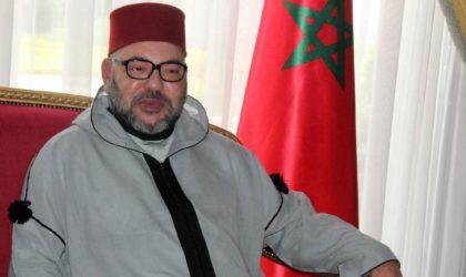 Le roi du Maroc adresse ses condoléances au président Bouteflika