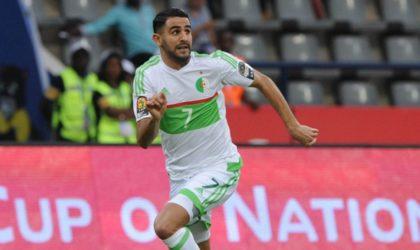 CAF : Mahrez retenu dans le onze type africain de l'année