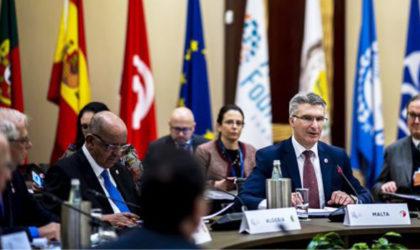 Dialogue 5+5 : Messahel copréside avec son homologue maltais la 15e Conférence des MAE à La Valette