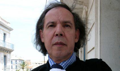 Mokrane Aït Larbi soutient la candidature du général Ghediri