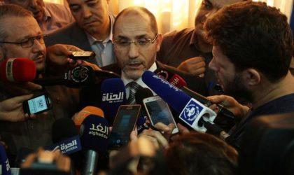 Le MSP annonce la candidature d'Abderrazak Mokri à la présidentielle