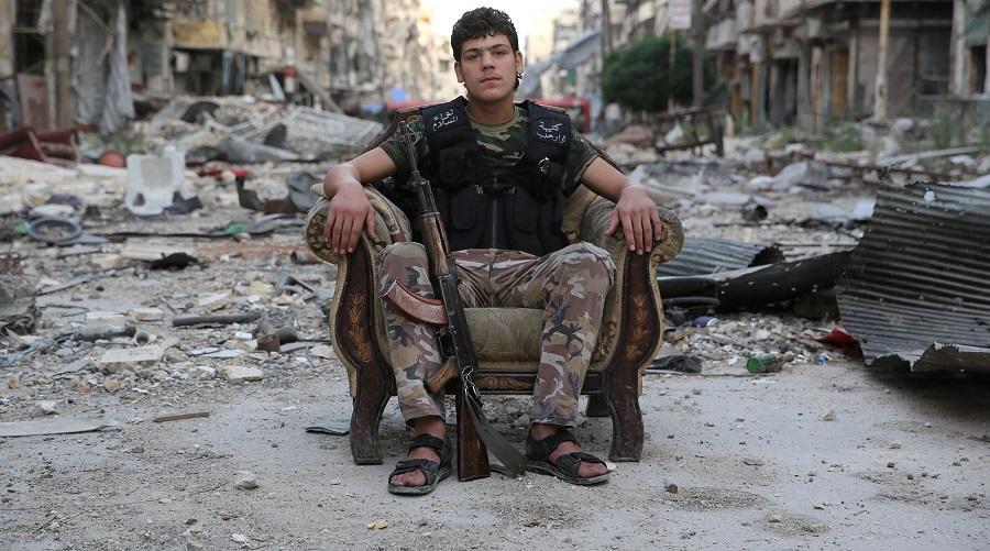 Syrie lieutenant