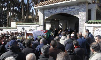 Lamamra, Ould Khelifa et Sellal à l'enterrement de Medelci