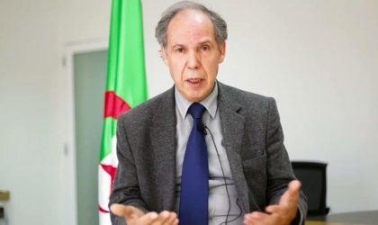 Mokrane Aït Larbi expose les grandes lignes du programme de Ghediri
