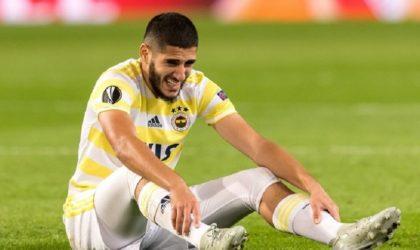 Fenerbahçe : Benzia non retenu dans l'effectif