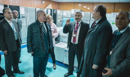 L'ambassadeur d'Egypte visite les unités du groupe Condor