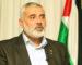 Gaza : réunion d'un responsable du renseignement égyptien et de Mladenov avec Haniyeh