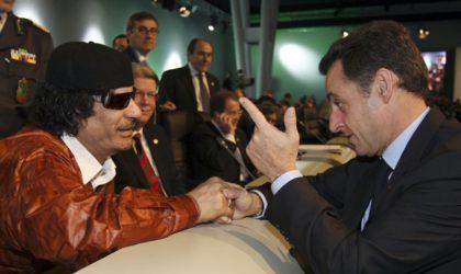 L'ombre de Kadhafi