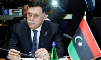 Al-Sarraj avertit l'Italie et l'Europe : «Nous courons vers une nouvelle catastrophe humanitaire»