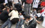 Les baltaguias de Mohammed VI massacrent les enseignants