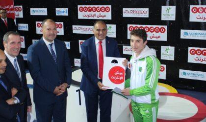 Ooredoo accompagne l'équipe nationale à la Coupe du monde de sabre