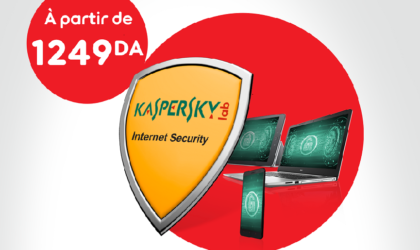 Nouvelle solutionKaspersky Internet Security by Ooredoo