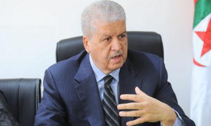 Parrainages, candidats concurrents, jeunesse, réformes : ce qu'a dit Abdelmalek Sellal