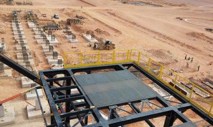 Sonatrach : mise en gaz de l'usine de traitement Touat