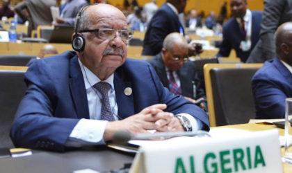 Abdelkader Messahel : «L'élection de l'Algérie est une reconnaissance à ses efforts»