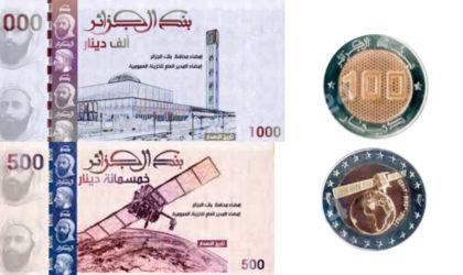 Mise en circulation de nouvelles coupures de billets de banque à partir de mi-février