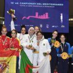 escrime Algérie or championnat