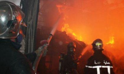Incendie au dernier étage d'un immeuble de l'ex-avenue Claude-Debussy à Alger-Centre