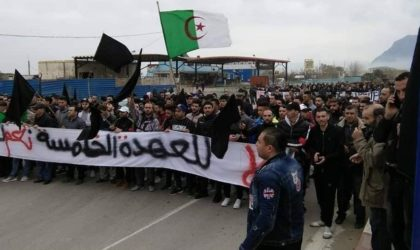 Nouvelle marche contre le cinquième mandat à Béjaïa
