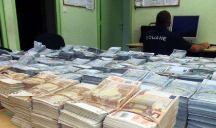 Saisie de 570 000 euros et 101 000 dollars à l'aéroport d'Alger