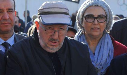 Manifestation contre Sidi-Saïd devant le siège de l'UGTA