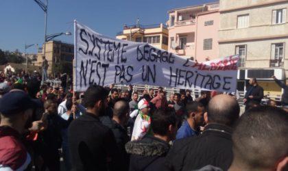 Une marée humaine à Béjaïa pour dénoncer le cinquième mandat