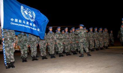 Mali: la Chine enverra un contingent de 395 soldats