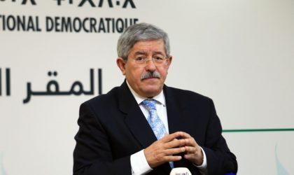 Ouyahia devrait déposer sa démission du secrétariat général du RND sous peu