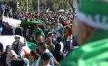Manifestation du secteur de la formation professionnelle à Alger