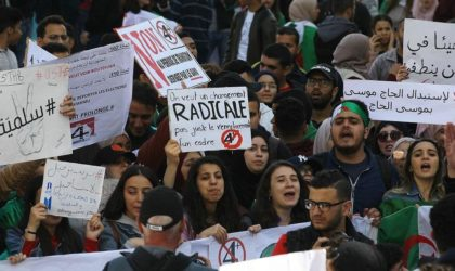 Un site spécialisé : «Une aile du régime facilite les manifestations en Algérie»
