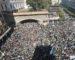 Marée humaine du vendredi 15 capturée grâce a un drone à Alger