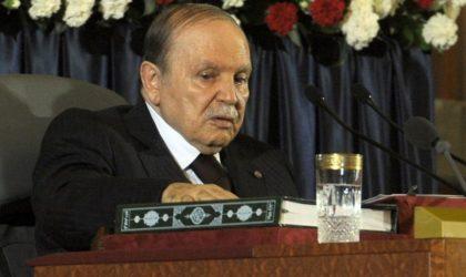 A Monsieur l'ex-président Abdelaziz Bouteflika : vos actes sont passibles des tribunaux !