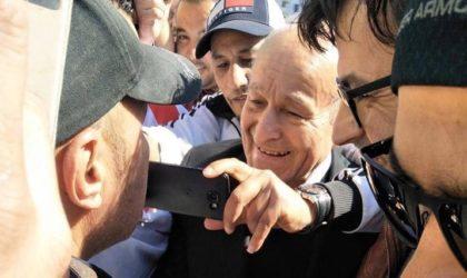 Djamila Bouhired, Issad Rebrab et Saïd Sadi participent aux manifestations à Alger
