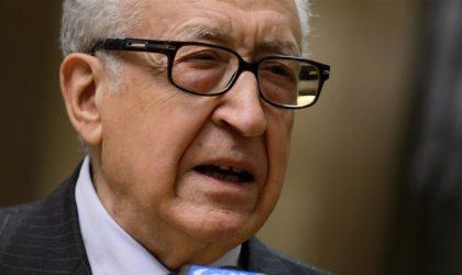 Lakhdar Brahimi: «Le changement radical doit se faire par le dialogue structuré et organisé»