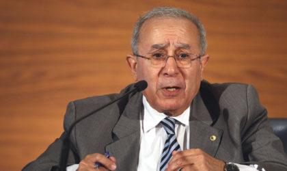 Lamamra : «L'Algérie refuse toute ingérence étrangère dans ses affaires internes»