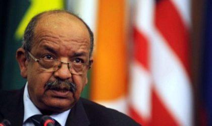 Messahel prend part au Caire à la réunion tripartite sur la Libye