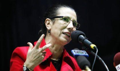 Rencontre avec Lakhdar Brahimi : la nervosité suspecte de Louisa Hanoune