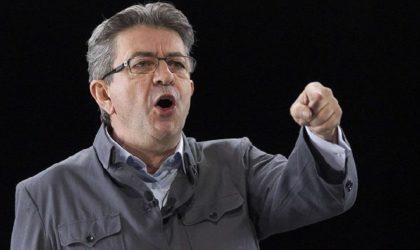 L'extrême-droite lynche Mélenchon pour avoir loué le courage des Algériens