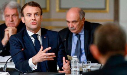 Emmanuel Macron révèle comment la France s'ingère perfidement en Algérie