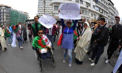 Manifestations en Algérie : entre humour et esprit