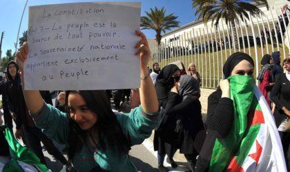 Une contribution de Nouara Bouzidi – Refuser l'absurdité du 5e mandat