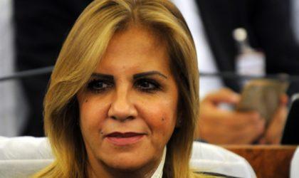La présidente de la CGEA dissidente du FCE, Saïda Neghza, appelle à soutenir l'armée