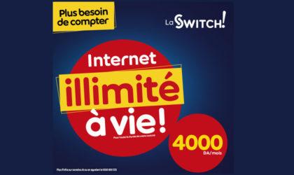 Ooredoo : Nouvelle offre permanente La Switch… l'internet en illimité revient