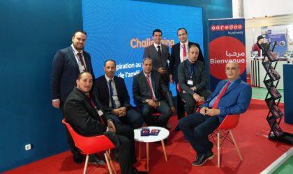 Ooredoo présente ses solutions aux professionnels au salon Immo-BTP-Invest