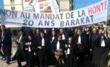 Rassemblement des avocats du tribunal d'Al Annasser