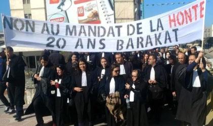 Présidentielle 2019 : rassemblement des avocats devant le Conseil constitutionnel