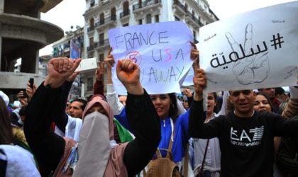 Le peuple algérien se réapproprie l'espace public politique