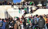 La marche des étudiants de l'ENTP à Alger