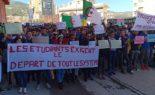 Marche des étudiants à Alger