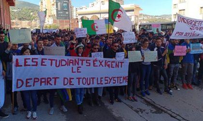 Plusieurs corporations ont manifesté à Béjaïa pour «le départ du système»